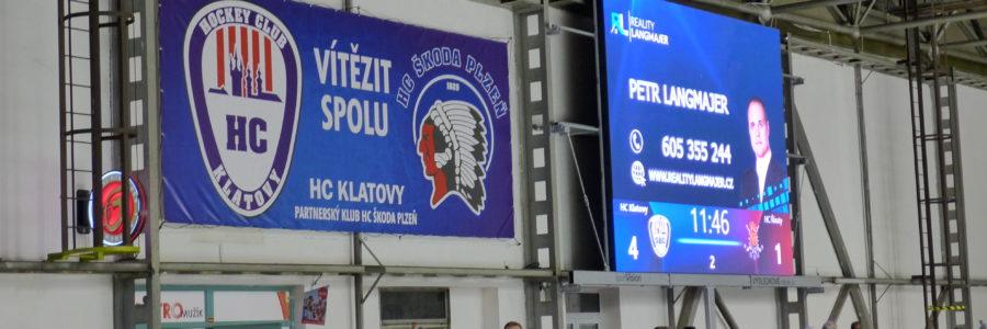 Jsme hrdým sponzorem hokejového klubu HC Klatovy